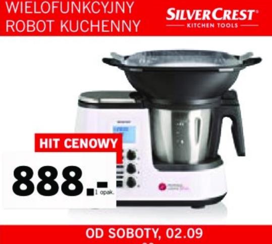 Wielofunkcyjny robot kuchenny SilverCrest Monsieur Cuisine Plus LIDL