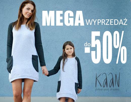 Mega Wyprzedaż do -50% w KAAN na ubrania dla Dzieci i ich Mam