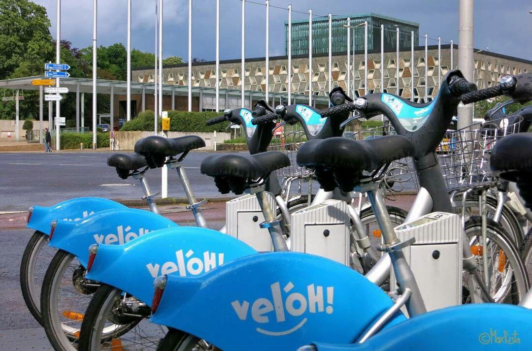 Rowerki miejskie za 1€ ...w Luksemburgu