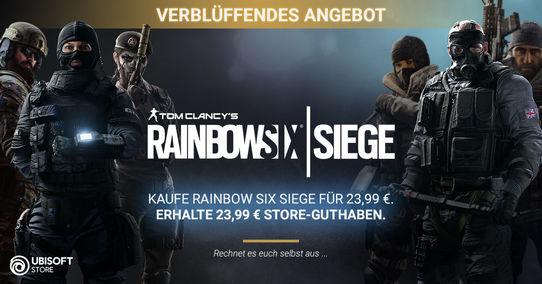 Rainbow Six Siege [PC, cyfrowo] ze zwrotem 100% ceny na konto sklepie Ubisoft