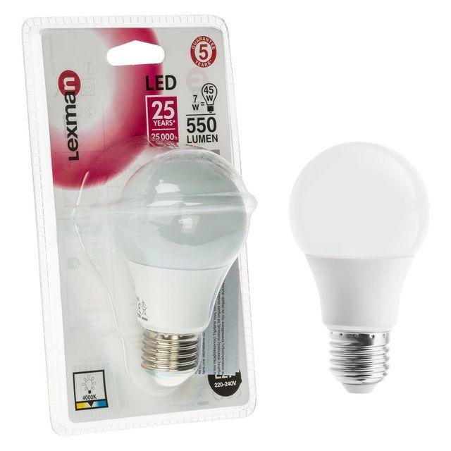 Żarówka LED E27 550 lm LEXMAN