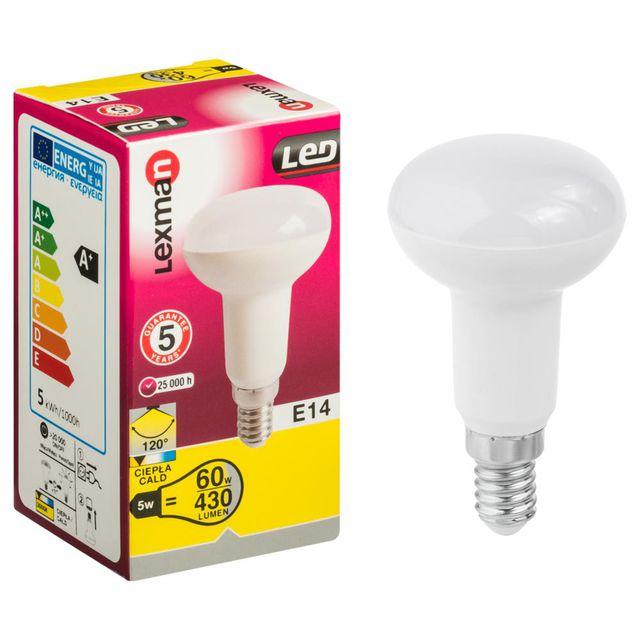 Żarówka LED R50 E14 430 lm LEXMAN