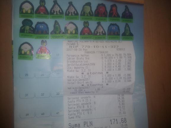Cukier tylko 1.89 w Biedronce