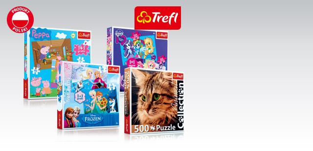Puzzle 1+1 lub puzzle 500 el. w cenie 9,99zł @ Biedronka