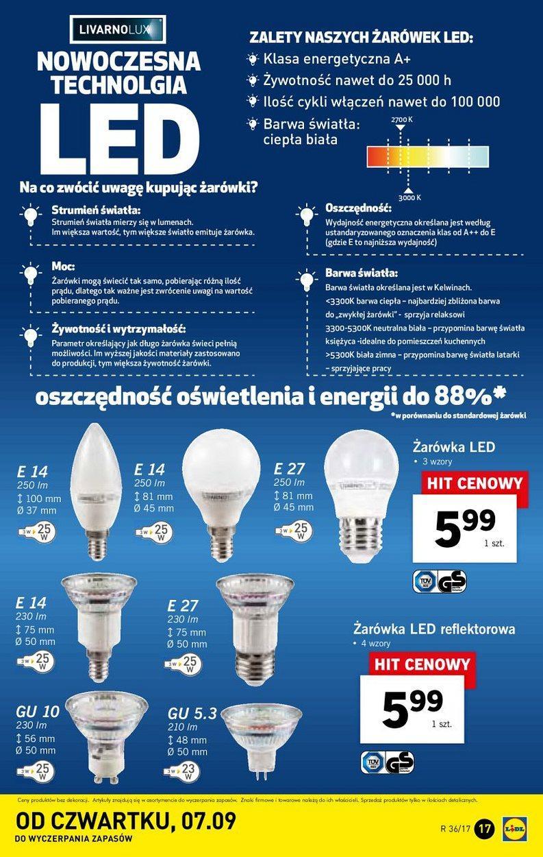 LIDL żarówki LED