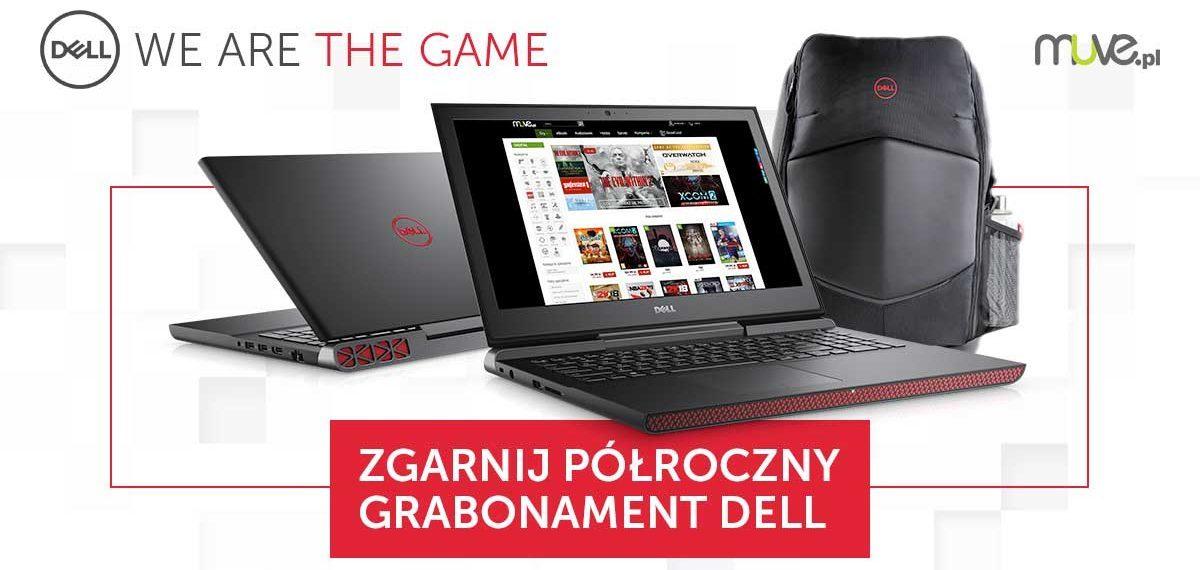 Kup laptopa gamingowego DELL lub Alienware, zarejestruj na stronie i zyskaj ~1500 zł w bonusach!