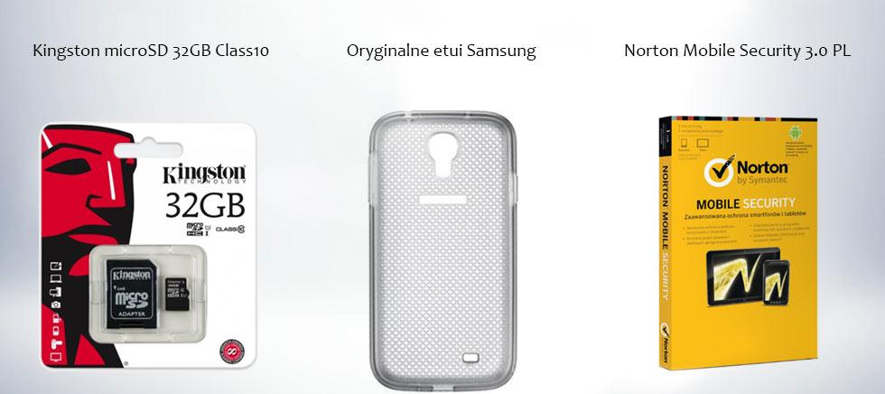 (AKTUALIZACJA) Samsung Galaxy s4 i9505 + karta 32GB + etui + Norton za 1299zł @ Agito