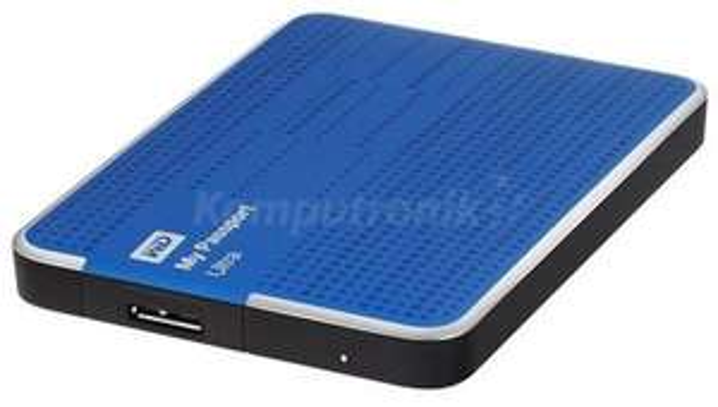 dysk przenośny WD My Passport Ultra 500GB niebieski za 199zł @ Komputronik