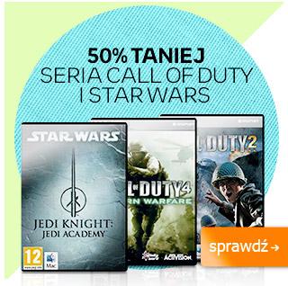 -50% na gry z serii Call of Duty oraz Star Wars (MAC/PC) @ Empik