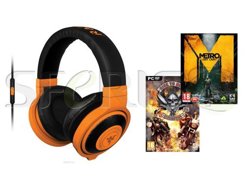 Słuchawki gamingowe RAZER Kraken Mobile + 2 Gry