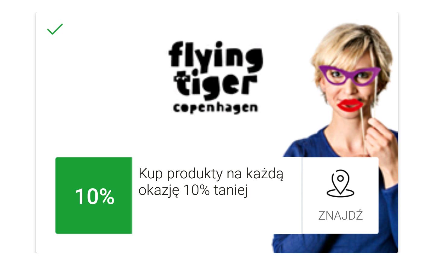 mOkazje Flying Tiger Copenhagen 10% x3
