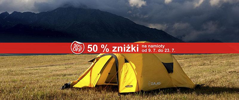 Namioty ZAJO (od kempingowych po ekspedycyjne) za pół ceny! @ Zajo