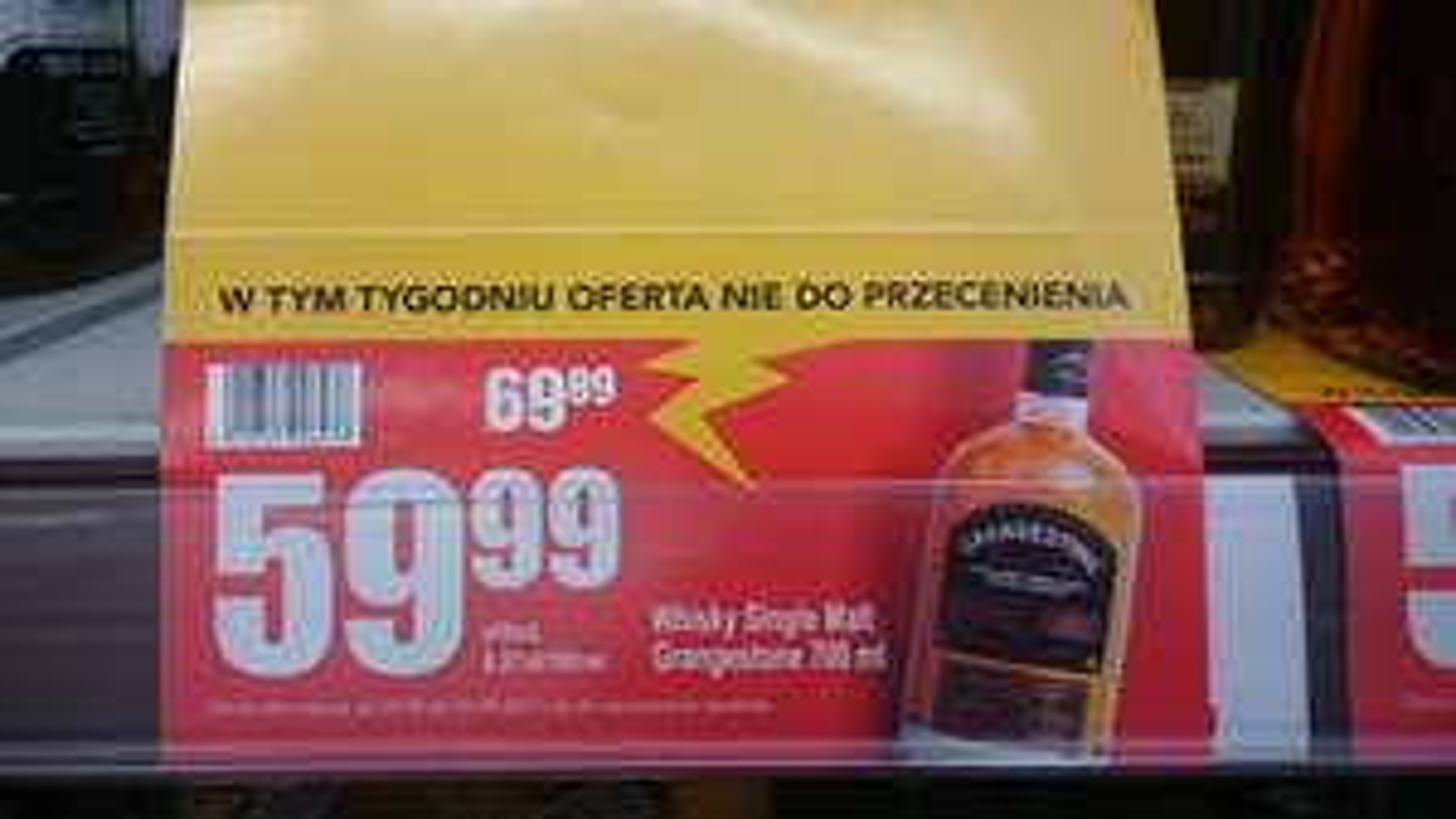 Whisky Single Malt Grangestone ! Najtańszy Single Malt na rynku !
