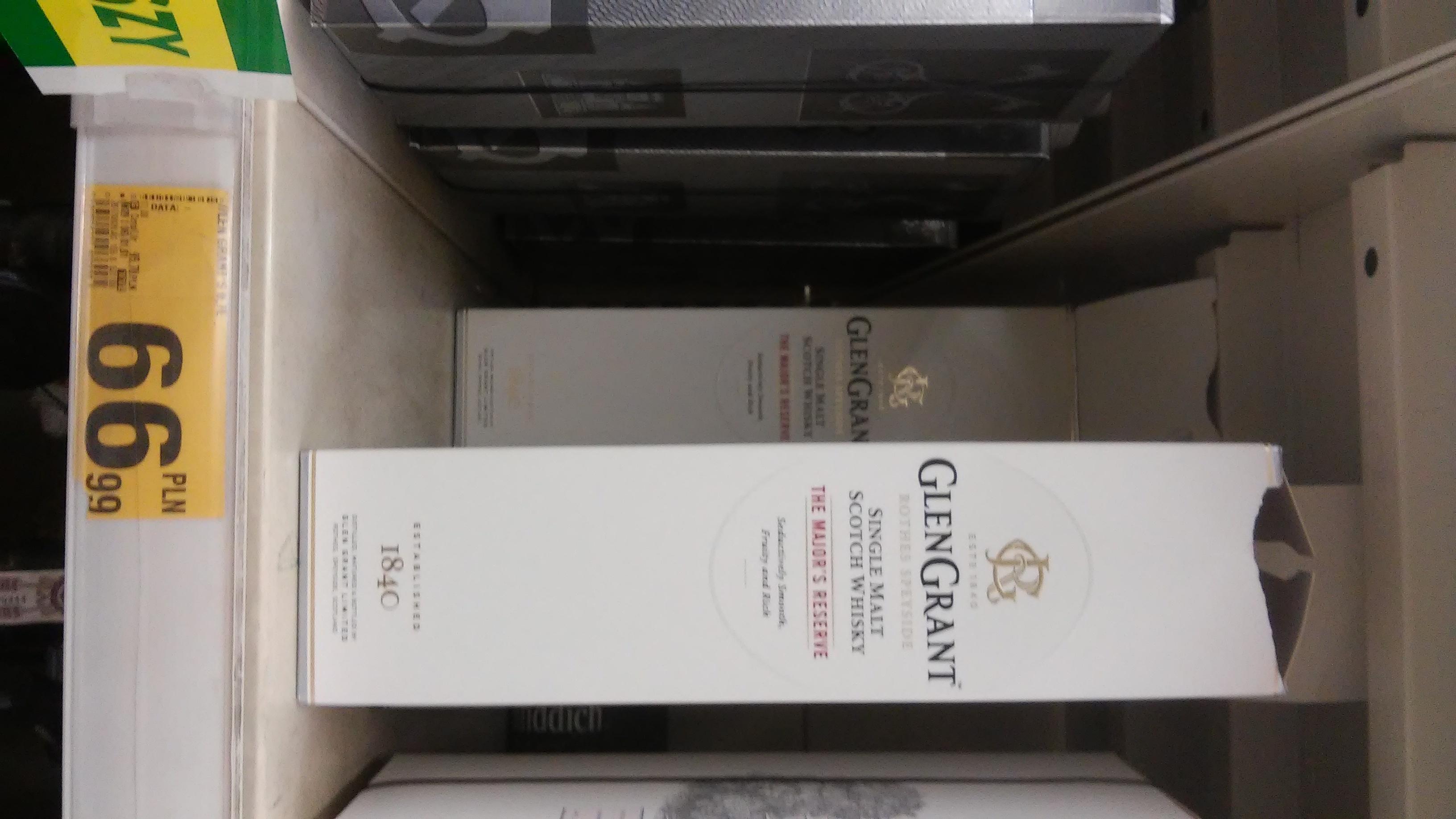 Glen Grant Single Malt 0,7l - Auchan Rumia
