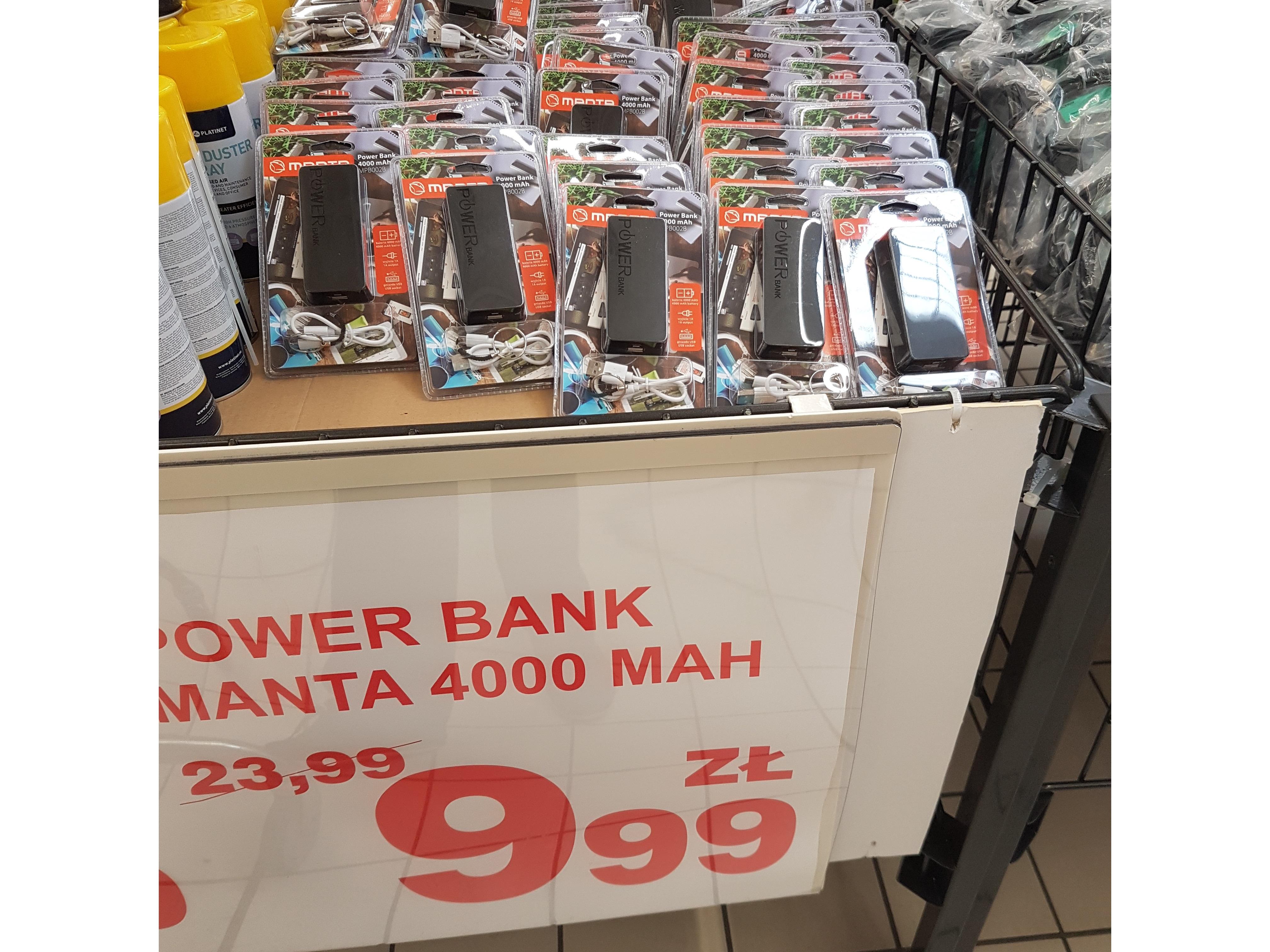 POWER BANK 4000 mAh za dychę