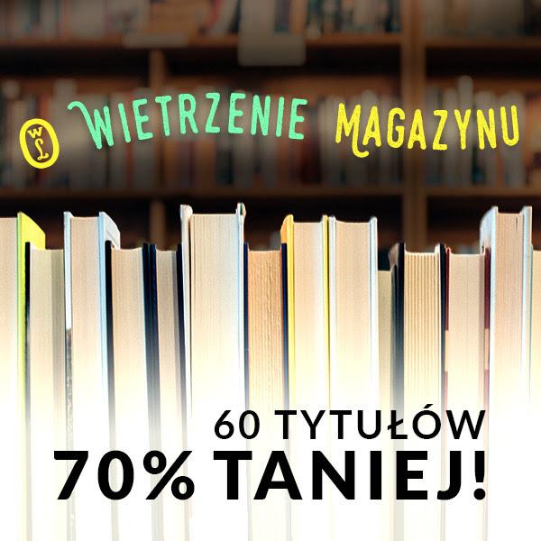 60 tytułów o 70% taniej @ Wydawnictwo Literackie