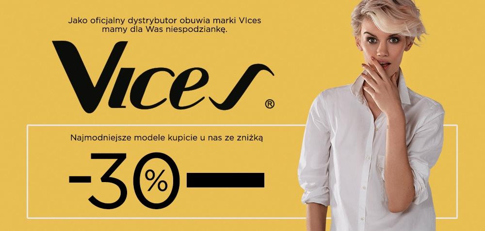 30% rabatu na obuwie marki Vices @ DeeZee