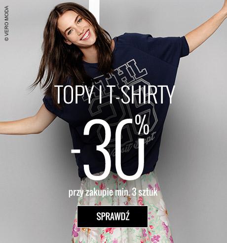 Topy i T-shirty z rabatem -30% przy zakupie min.3sztuk @ Answear