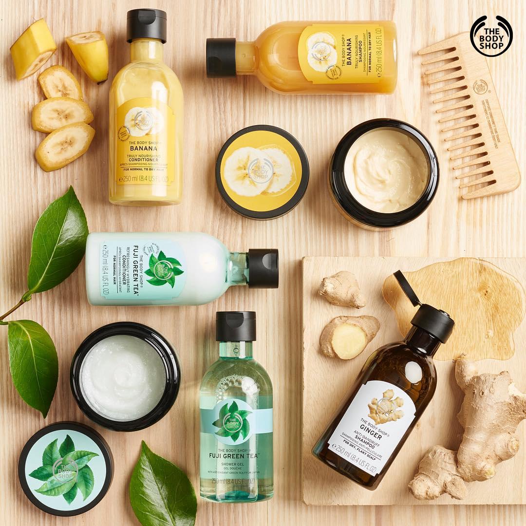 -35% na kosmetyki do pielęgnacji włosów @ The Body Shop