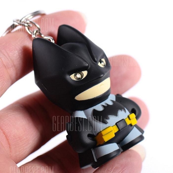 Batman - breloczek z latarką LED @Gearbest (możliwe 0.71 USD)