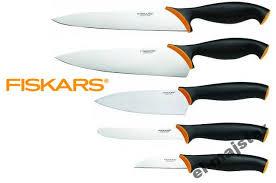 Noże Fiskars w cenie 29,99zł za sztukę lub za zestaw @ Biedronka