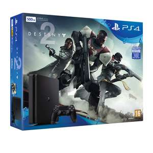 PlayStationt 4 Slim 500GB + Destiny 2
