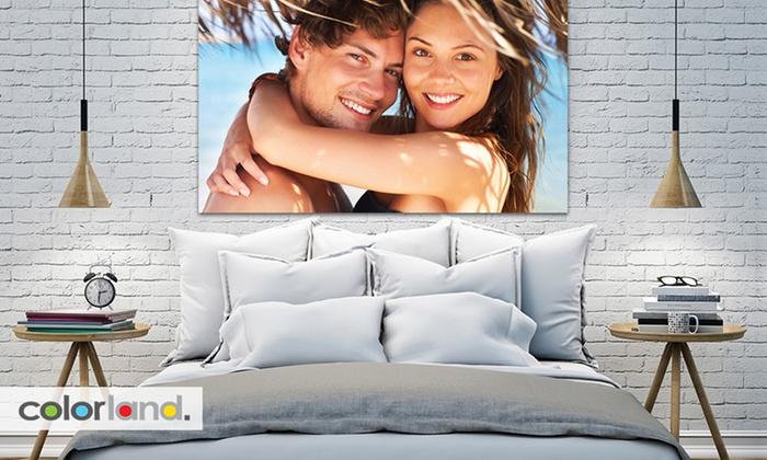 Fotoobraz z Twoim zdjęciem na płótnie za 4,99 zł - 30x40cm - 3 sztuki - 14,55 zł @Groupon
