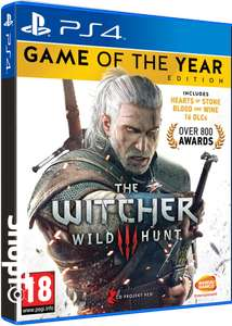 The Witcher/Wiedźmin 3: Wild Hunt - Game of the Year Edition [Playstation 4/Xbox One] za 98zł z wysyłką @ ShopTo