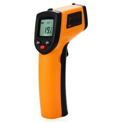 Termometr,  pirometr na podczerwień GM320