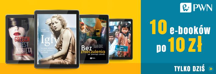 (TYLKO DZIŚ) 10 e-booków po 10zł (każdy) @ Publio