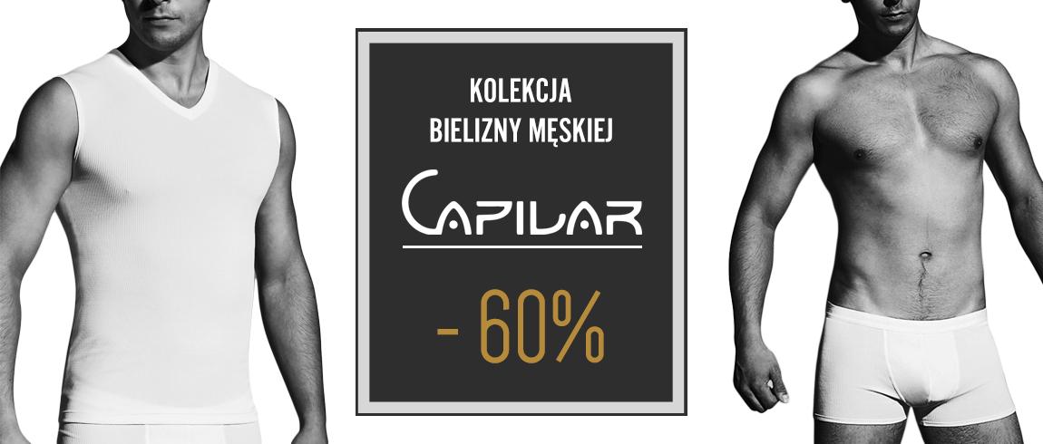 Rabat 60% na męską kolekcję Capilar @ Gatta