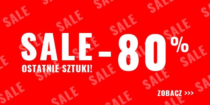 Ostatnie sztuki odzieży do -80% w Ozonee.pl!