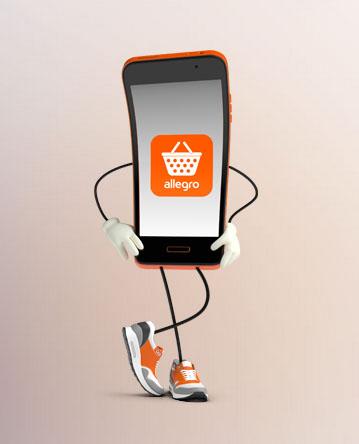 10zł na zakupy przez aplikację mobilną (1-3 marca) @ Allegro