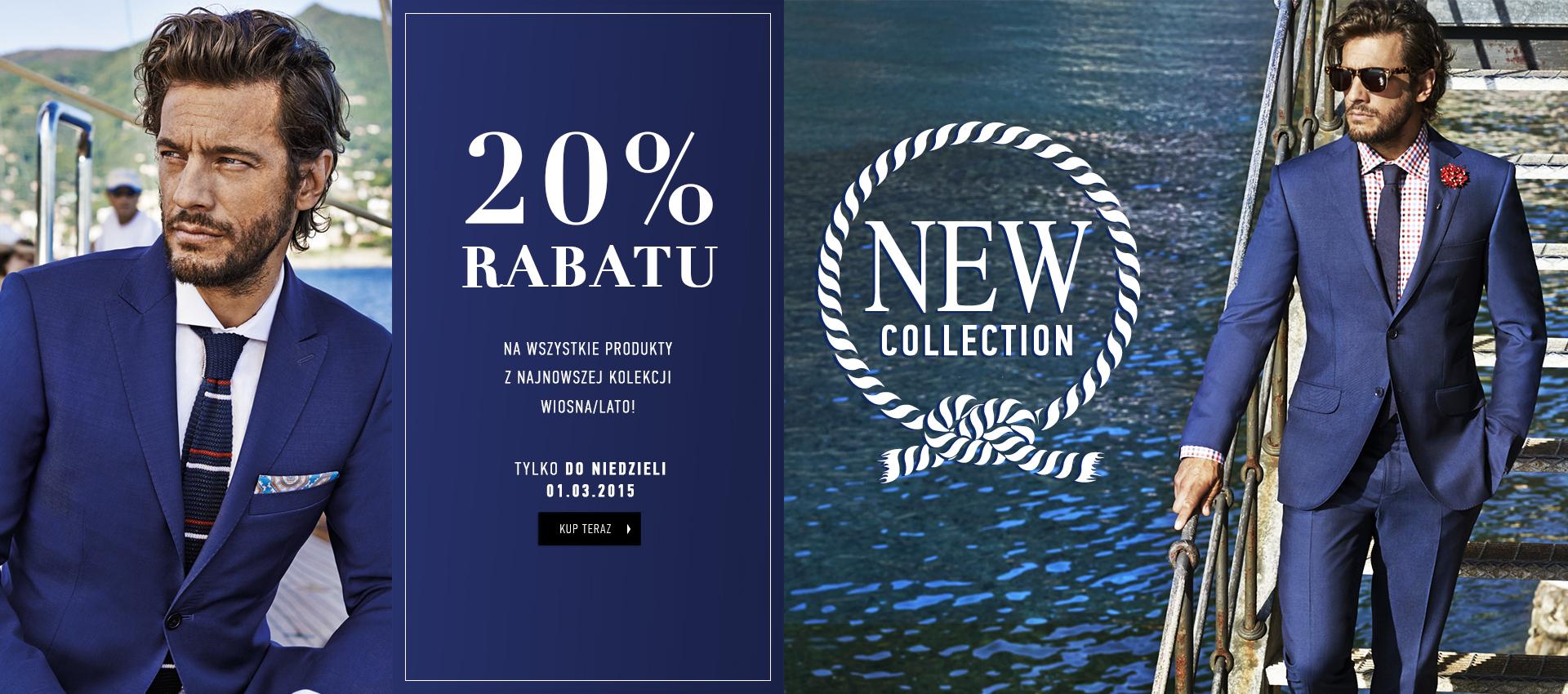 Rabat 20% na nową kolekcję (Tylko do dziś, 1.03) @ Vistula