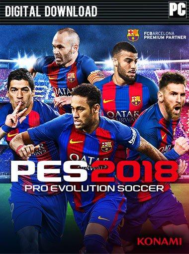 """Powrót króla """"kopanek"""". Pro Evolution Soccer 2018 w doskonałej cenie @cdkeys"""