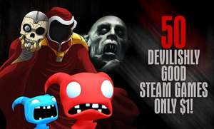 [Bundle Stars] 50 gier na Steam za 1,09 EURO.