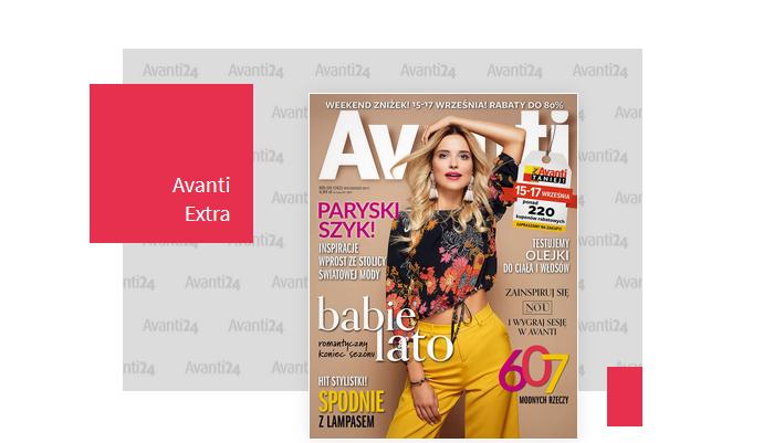 Weekend zniżek z Avanti Logo 15-17 września