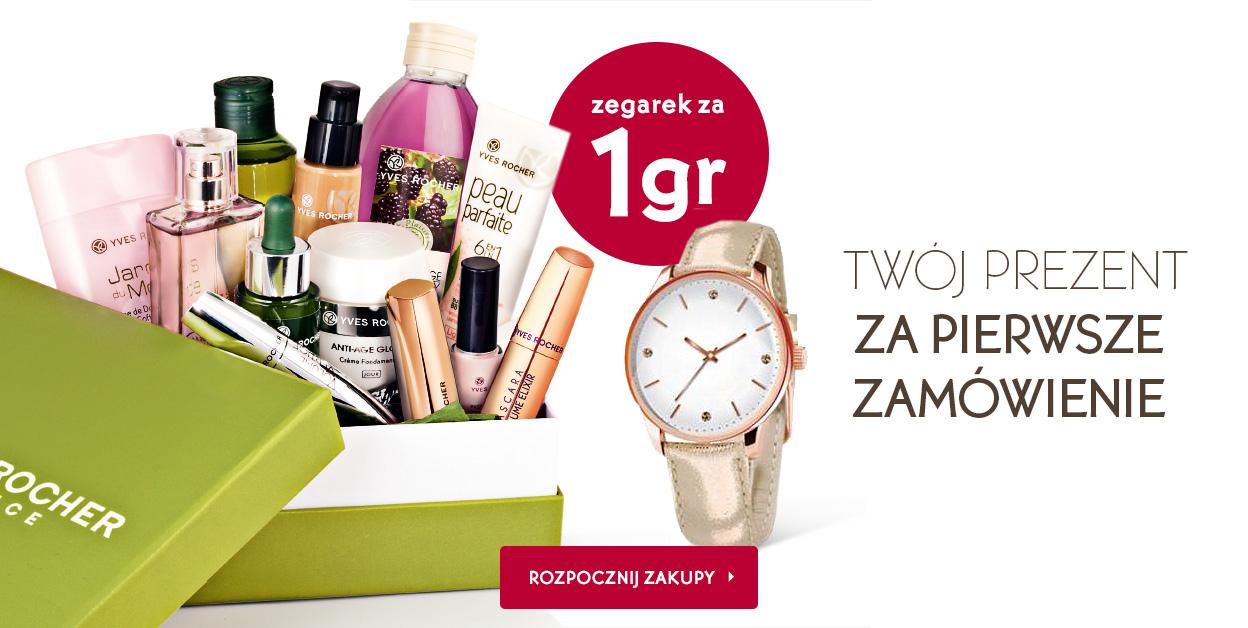 Zegarek gratis do zamówienia dla nowych