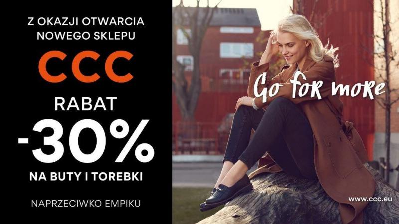 -30% na buty i torebki (Katowice, SCC) @ CCC