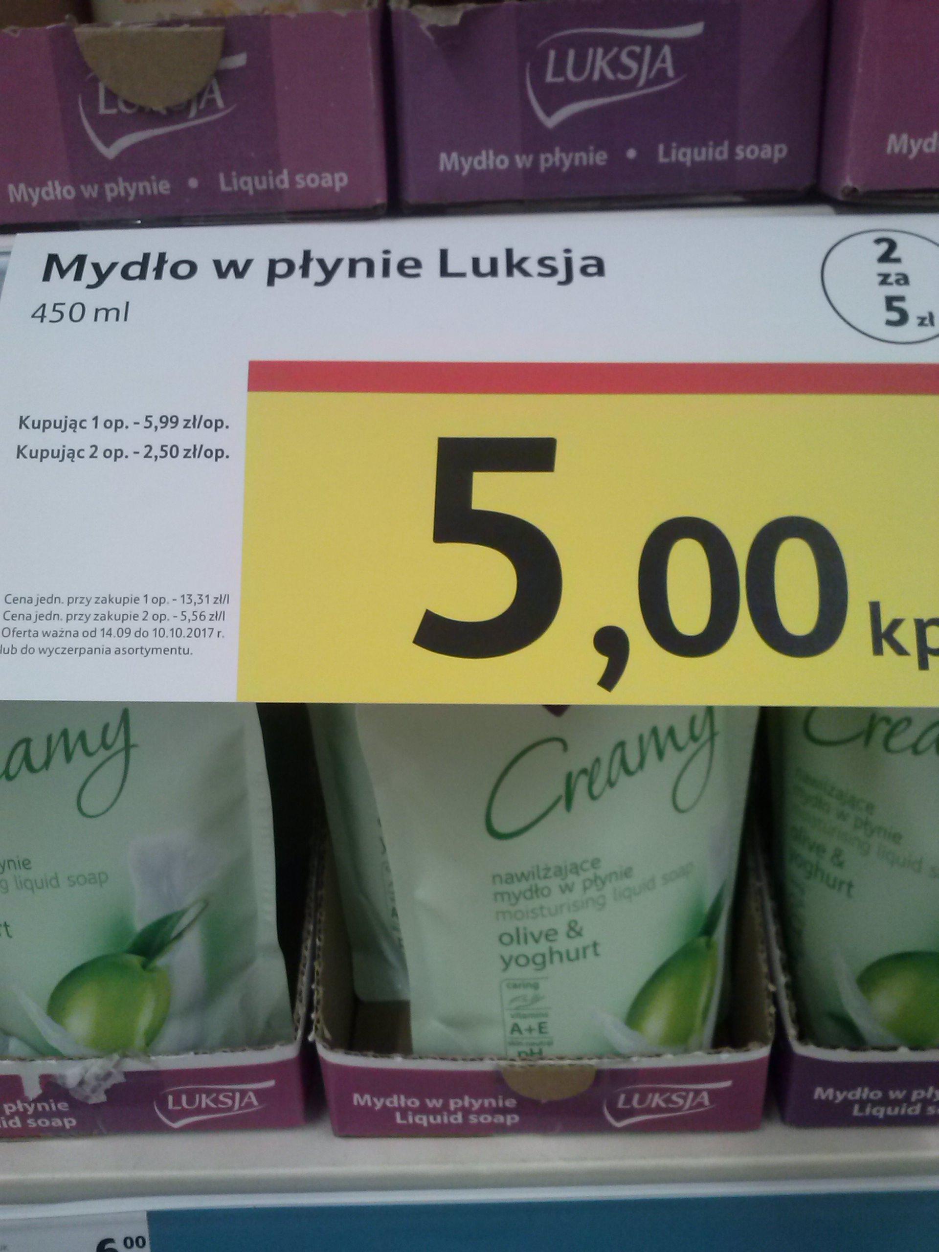 Mydło Luksja - 2 za 5 zł :D