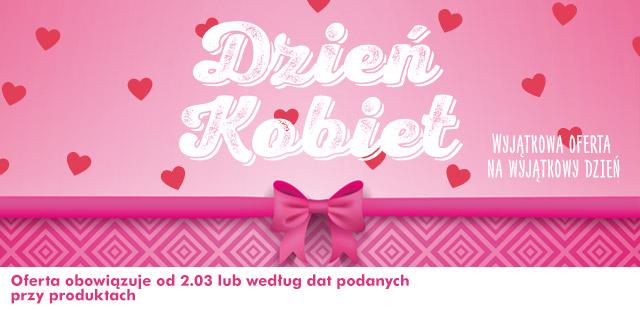 Kosmetyki w niskich cenach na Dzień Kobiet @ Biedronka