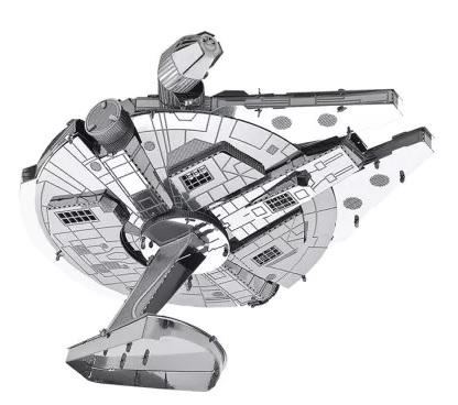 Millennium Falcon 3D Metallic Puzzle za 1$ + 3 inne modele