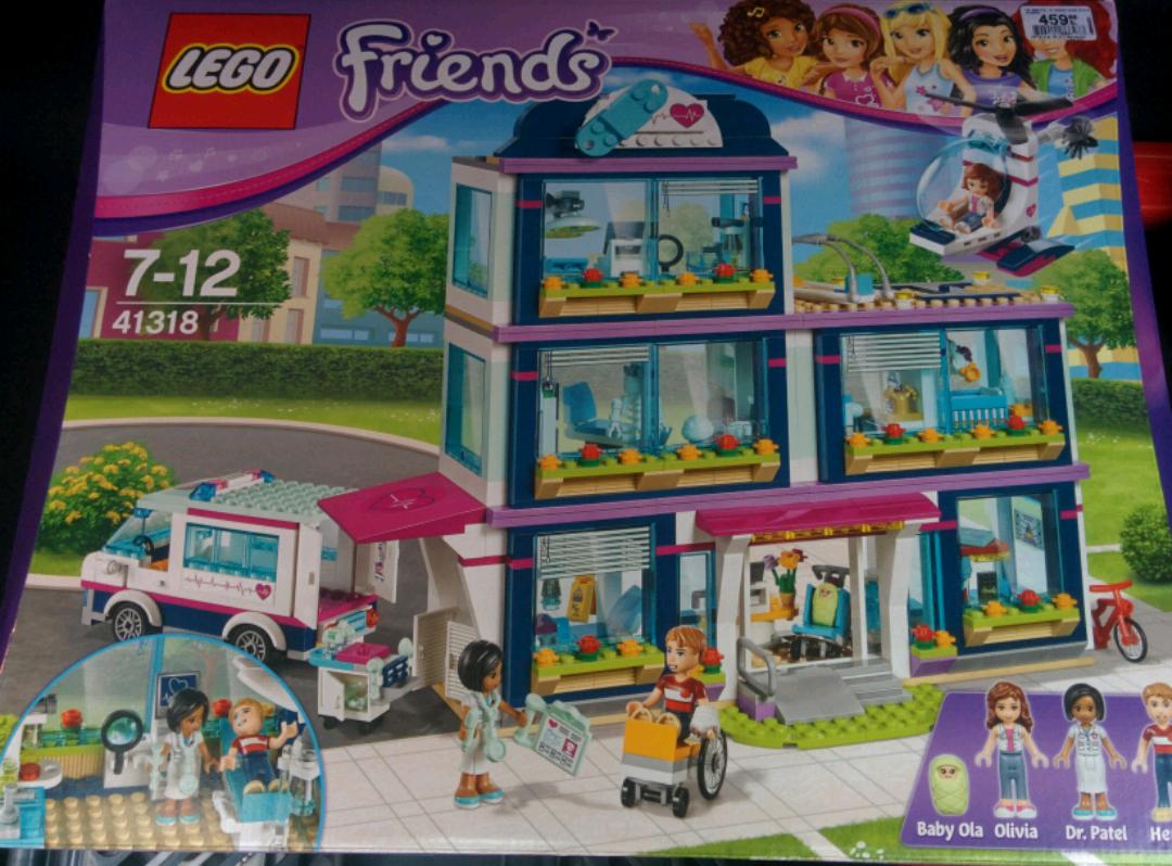 Błąd cenowy(?) zestaw LEGO Friends Szpital w Heartlake 41318 129,99 zamiast 459 @ smyk