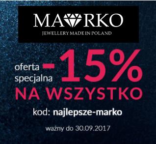 -15% na biżuterie na cały asortyment w marko.pl - Białystok