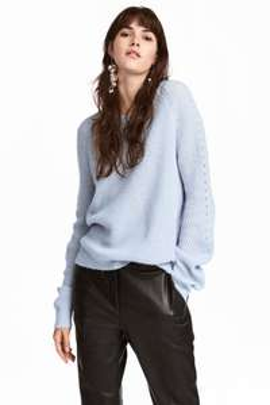 Sweter o splocie w prążki 22,90 z 79,90