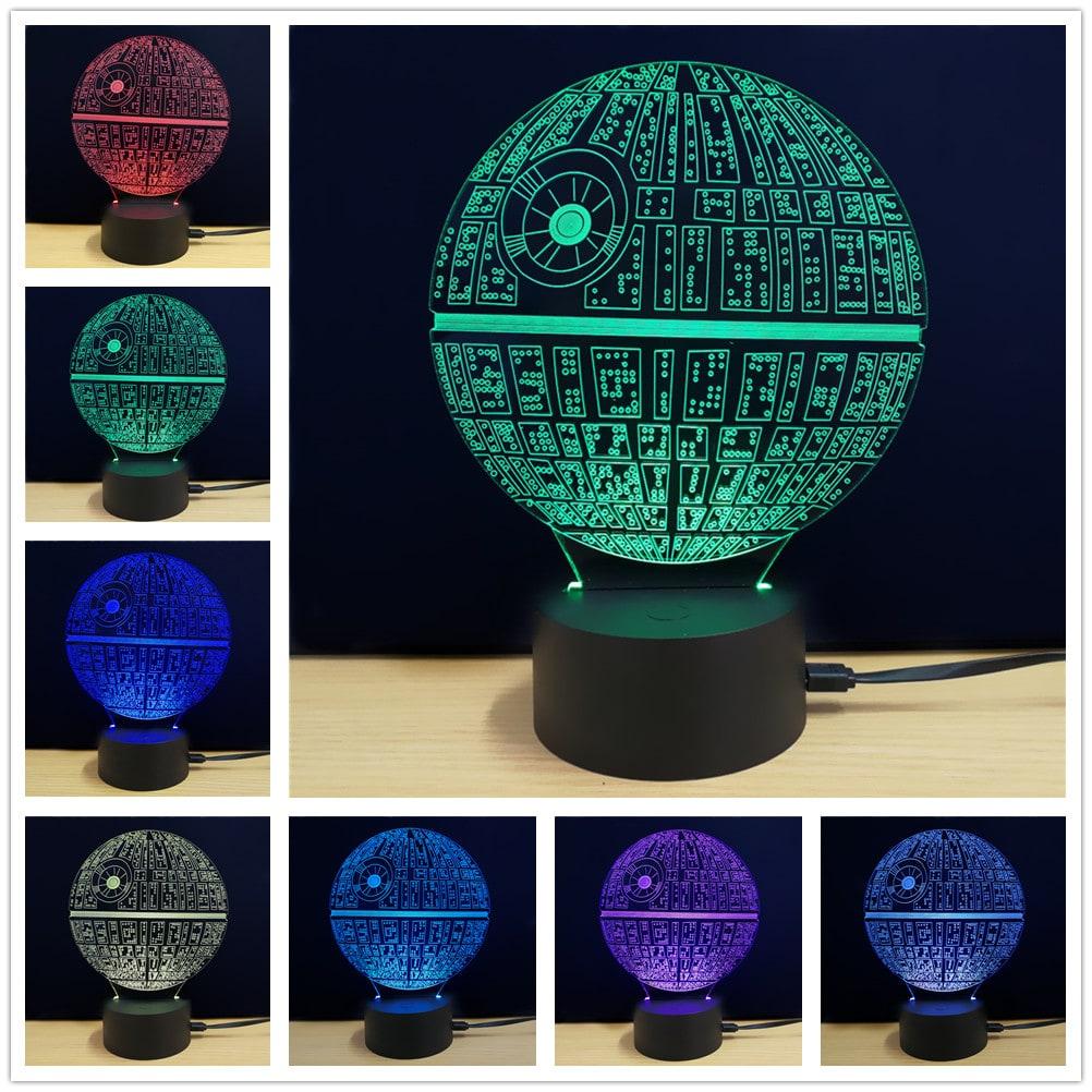 3D Lamp Star Wars The Death Star
