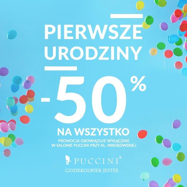 -50% na wszystko @ Puccini (Katowice, SCC)