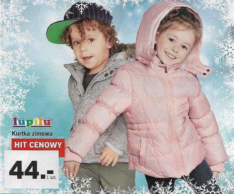 [Od 2.10] Dziecięce kurtki zimowe po 44zł @ Lidl