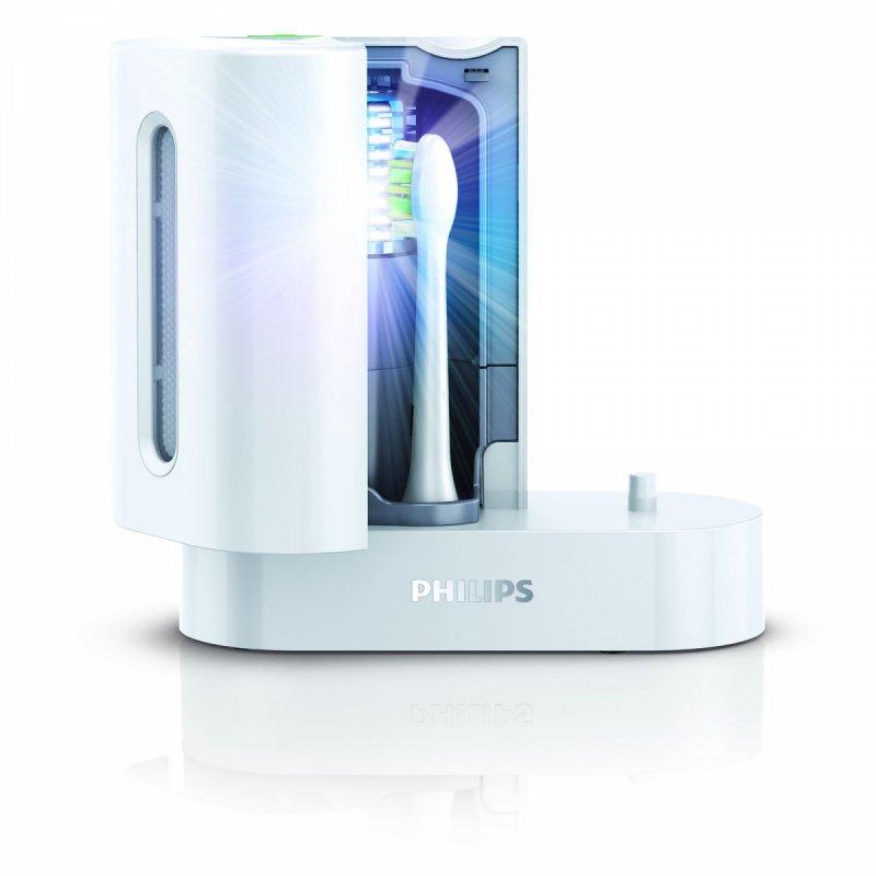 Philips Stacja dezynfekująca / sanitazer / do szczoteczek plus ładowarka