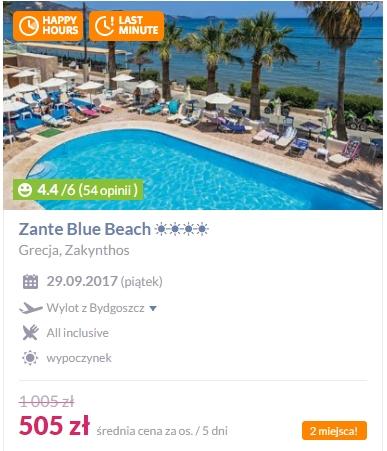 HIT! Cypr, 4*, all inclusive, 505 zł za 5 dni !
